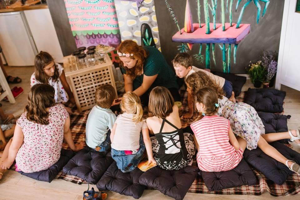 Чайна за деца. Социална чайна - Варна