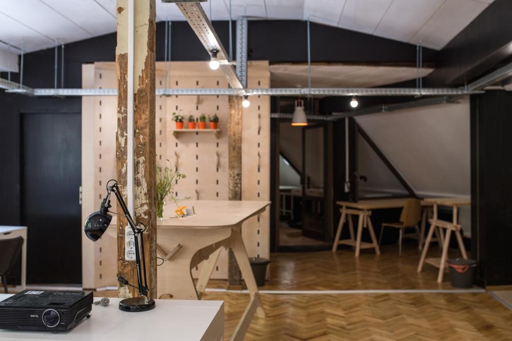 Споделено работно място, Социална чайна - Варна